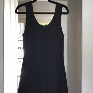 Anne Klein Black tank knit dress.  Size medium
